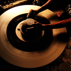 matter of a wheel by Dola Das - Artistic Objects Other Objects