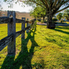 Sunset in the churchyard by Taz Graham - Landscapes Prairies, Meadows & Fields ( sunset, churches, photography,  )