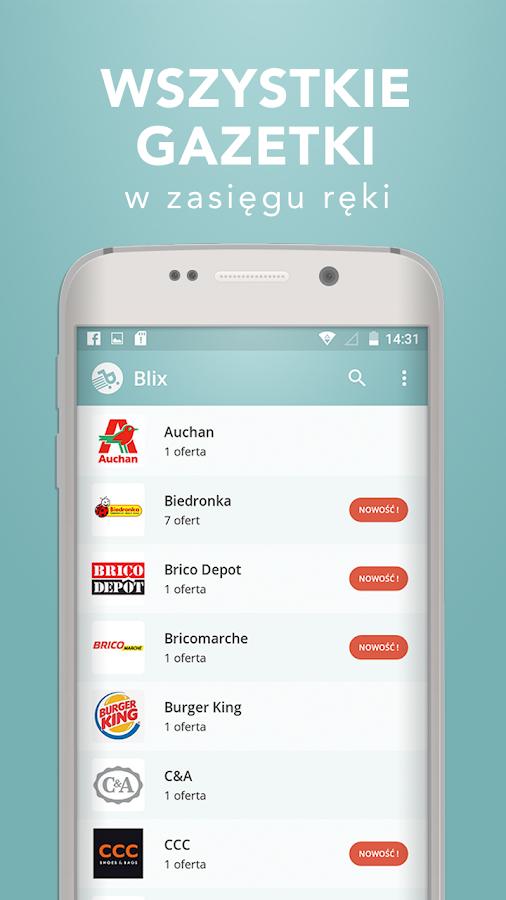 Blix Gazetki Gazetka Promocje Android Apps On Google Play