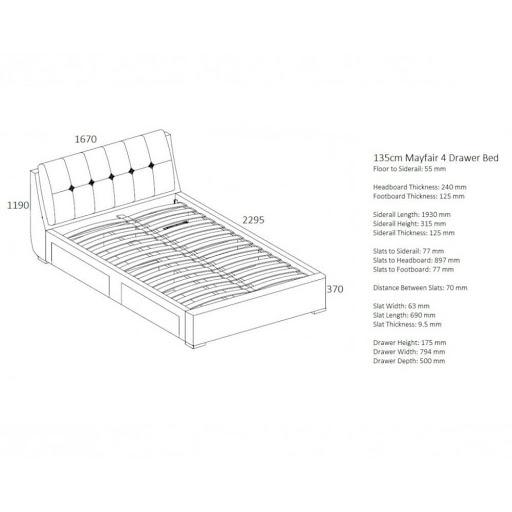 Birlea Mayfair Bed Frame