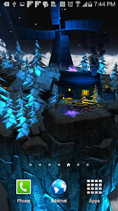 Floating Island Parallax LWP screenshot 3