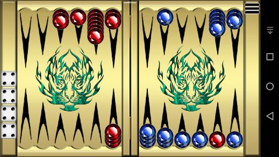 Narde - Backgammon - náhled