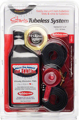 Stans No Tubes Standard/UST Tubeless System Fits most 26x21-24mm Rims alternate image 0