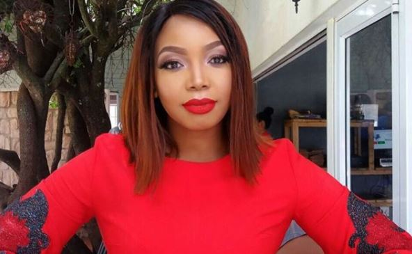 TV and Radio personality Thembisa Mdoda.