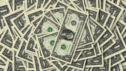 Green money. Dollar. Wallpaper