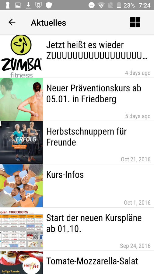 San-Fit - 3x in der Wetterau- screenshot