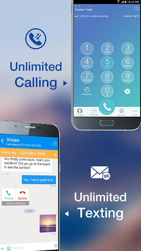 Telos Free Phone Number & Unlimited Calls and Text  screenshots 1