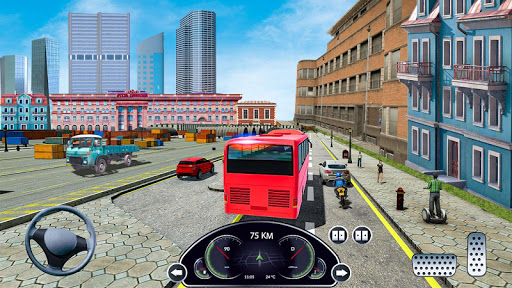 Coach Bus Simulator Game: Bus Driving Games 2020 apktram screenshots 5