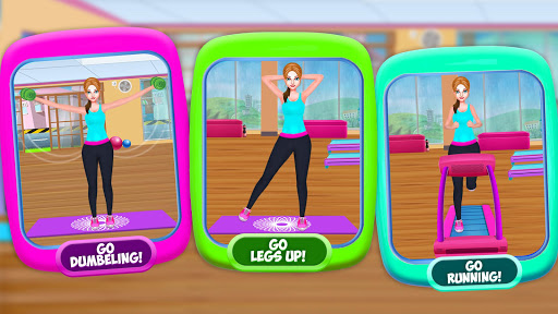 High School Fitness Athlete: Acrobat Workout Game android2mod screenshots 5