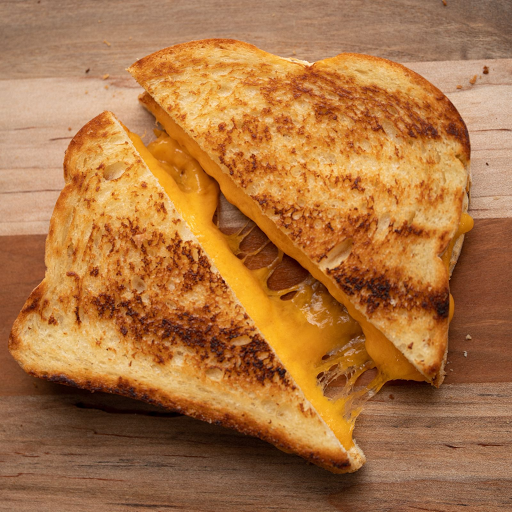 Grilled 2 Cheese Sandwich