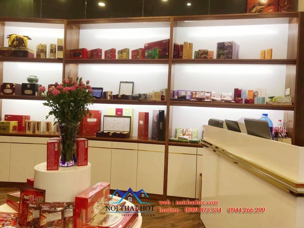 Thiết kế cửa hàng sâm Ginsenplaza.com 9
