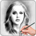 Pencil Sketch Photo:DrawingArt icon