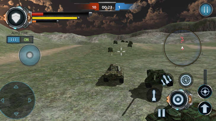 3D Tank Game - Tank World War screenshot