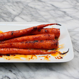 Roasted Carrots with Harissa and Honey Recipe