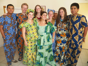 Photo: Everyone in their new traditional clothing!