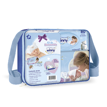 KIT Winny Sensitive Etapa 0 Recion Nacido x 3Und
