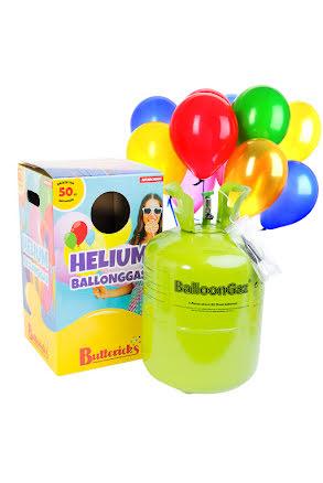 Helium, 50 ballonger