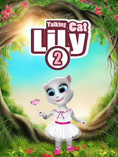 Talking Cat Lily 2 Screenshot