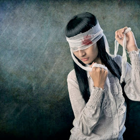blind beauty  by M Salim Bhayangkara - People Fine Art