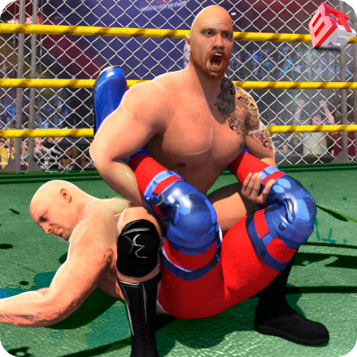 WRESTLING CAGE REVOLUTION : WRESTLING GAMES 2K18 (game)