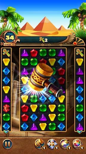 Jewels Treasure : Puzzle match 3  captures d'écran 3