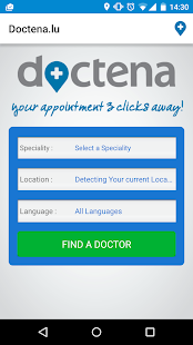 Doctena.lu- screenshot thumbnail