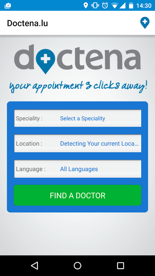 Doctena.lu- screenshot