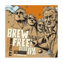 Logo of 21st Amendment Brew Free! Or Die IPA