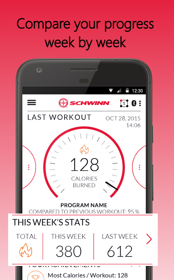 Schwinn Trainer- screenshot