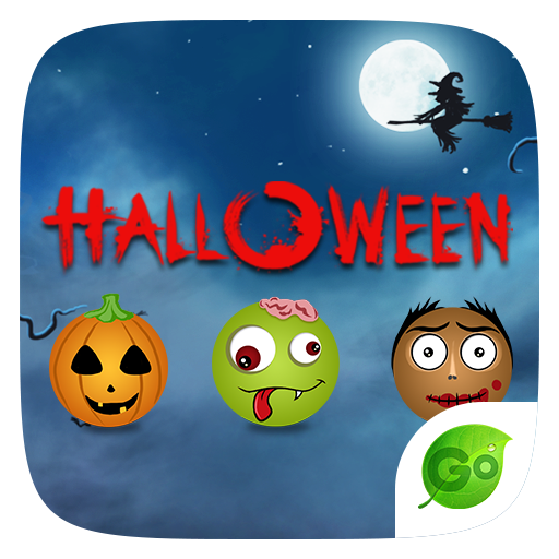 GO Keyboard Sticker Halloween 個人化 App LOGO-硬是要APP