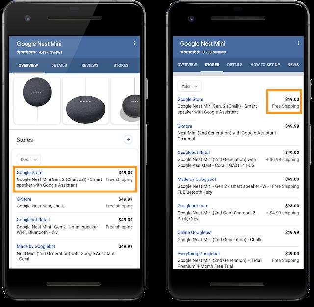 Google добавил новую разметку Schema.Org для товаров