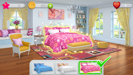 Home Design : Miss Robins Home Makeover Game screenshot 3