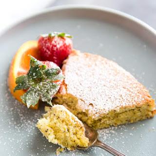 Orange Poppyseed Almond Flour Cake.