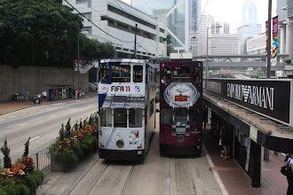 Photo: Day 200 - Another Photo of the Trams in Central