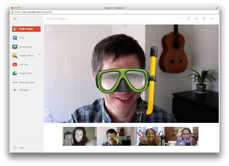Photo: Hangouts: Sidebar open
