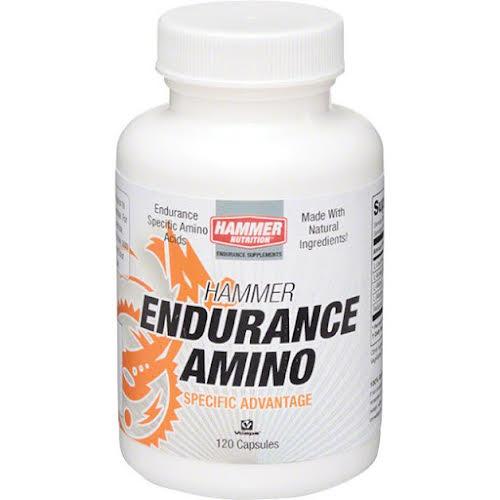 Hammer Nutrition Hammer Endurance Amino: Bottle of 120 Capsules