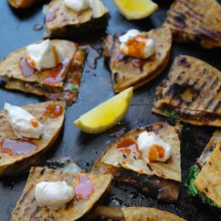 Mushroom & Caramelized Onion Quesadillas