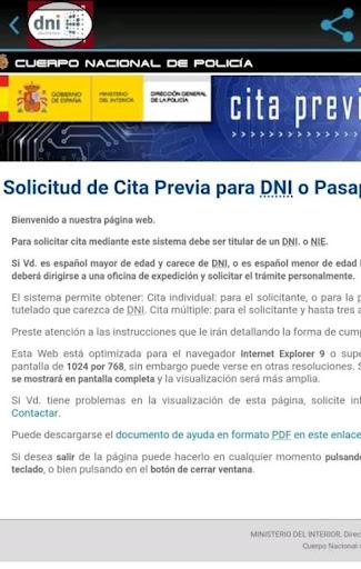 DNI/Pasaporte: Requisitos y Obtenciu00f3n de Cita screenshots 10