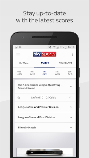 Sky Sports Live Football Score Centre 5.9.2 screenshots 2