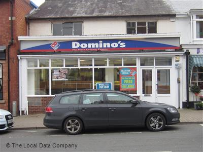 Dominos Pizza On Worcester Road Pizza Takeaway In Malvern