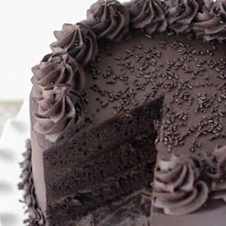 Decadant Chocolate Stout Cake.