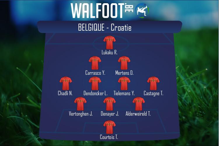 Belgique (Belgique - Croatie)