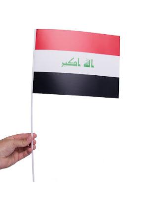 Pappersflagga, Irak