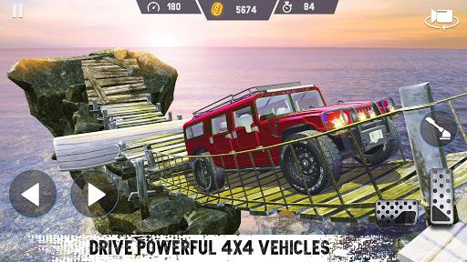 Télécharger Gratuit 4x4 Voiture Conduire  SUV de conduite automobile mod apk screenshots 1
