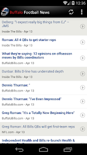 Buffalo Football News - screenshot thumbnail