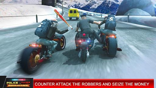 Police vs Thief MotoAttack 1.0 screenshots 1