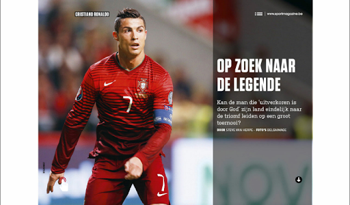 Sport/Voetbalmagazine HD screenshot 10