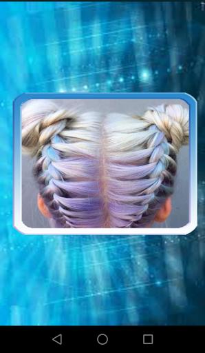 hairstyles with braids screenshot 1