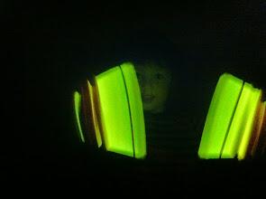 Photo: Clark and Glow Sticks