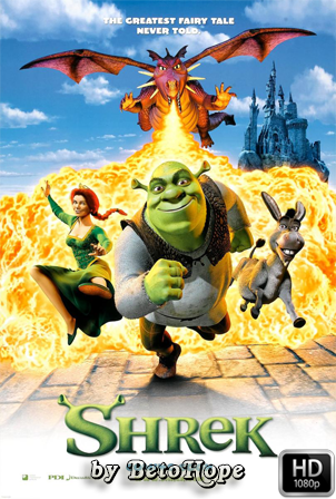 Shrek [2001] [Latino-Ingles] HD 1080P  [Google Drive] GloboTV